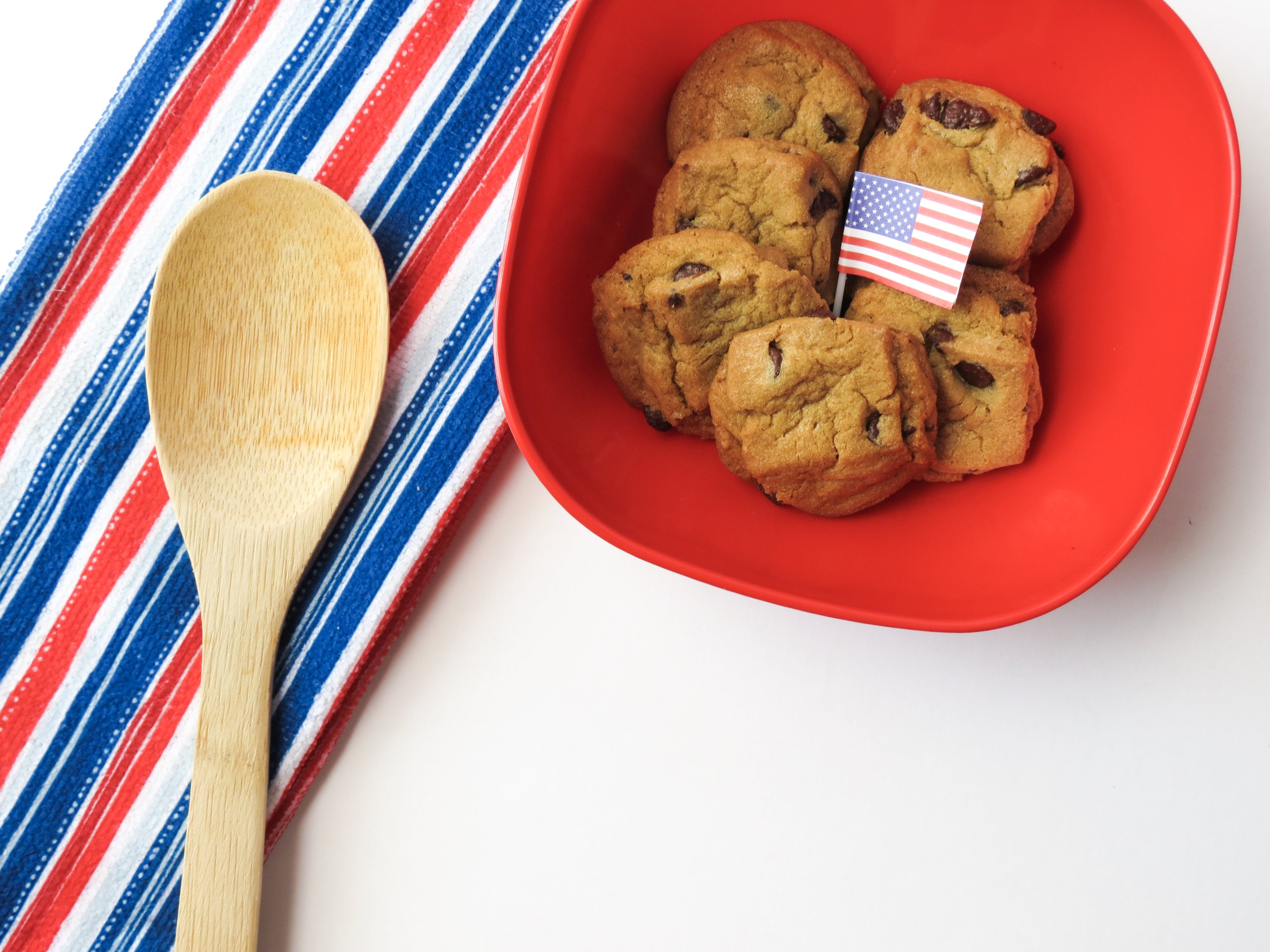 Free stock photo of wood, flag, wooden, biscuits