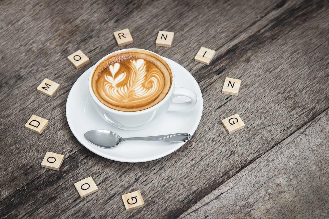 Доброе утро, капучино, кофе