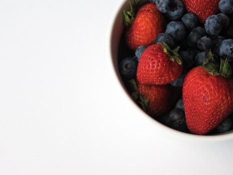Free stock photo of food, fruits, blueberries, sweet