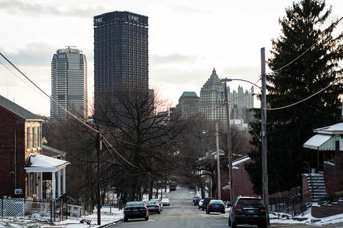 Free stock photo of city, downtown, skyscraper