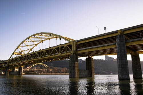 Free stock photo of bridge, light, steel