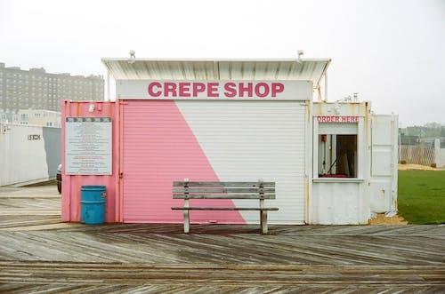 Free stock photo of boardwalk, food, shops