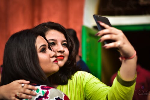 Free stock photo of group selfie, selfie, selfie photo
