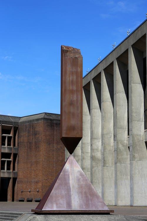 Free stock photo of art, barnett newman, broken obelisk