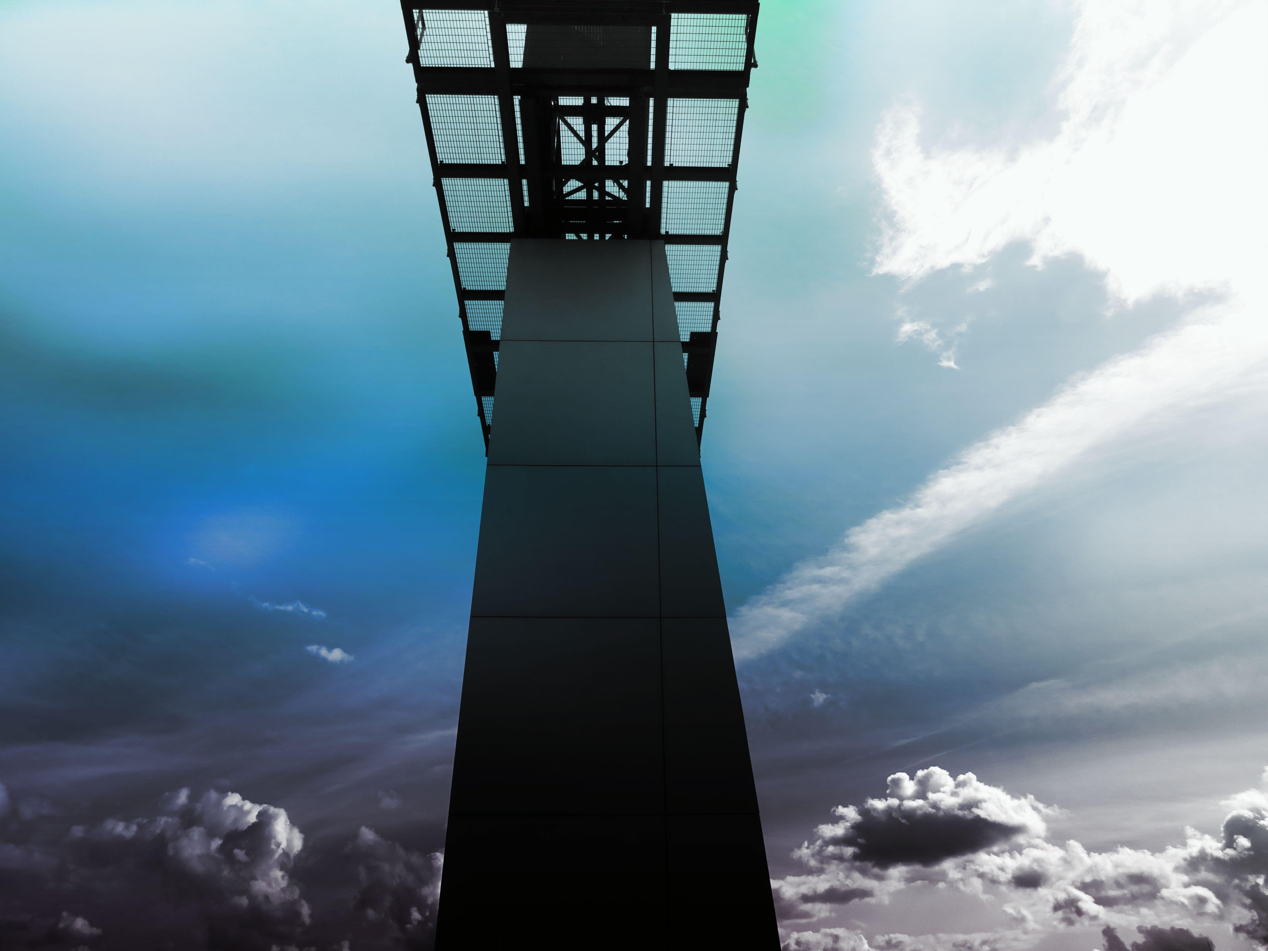 architecture, bridge, bright
