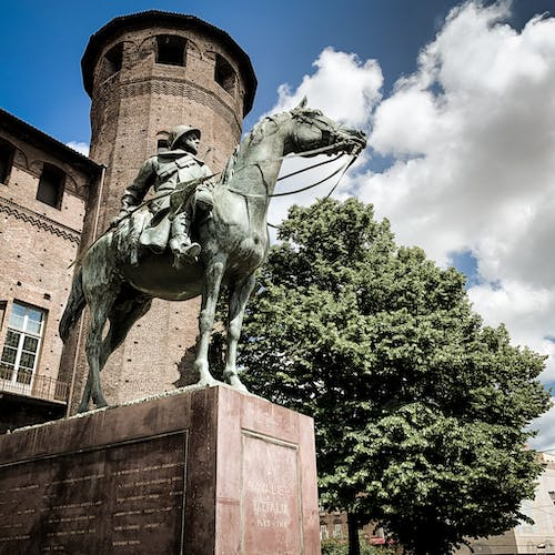 Free stock photo of castle, horse, italy, monument