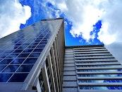 clouds, building, architecture