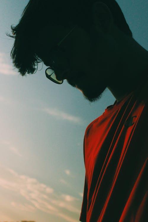 portrait, silhouette