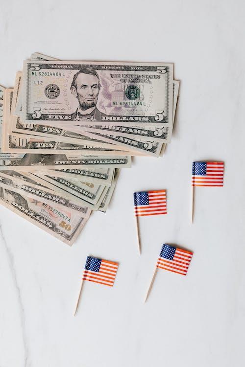 Kostenloses Stock Foto zu abstrakt, amerika, aufsicht, bank
