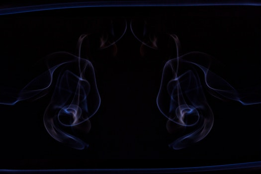 Free stock photo of cold, blue, silhouette, cigarette