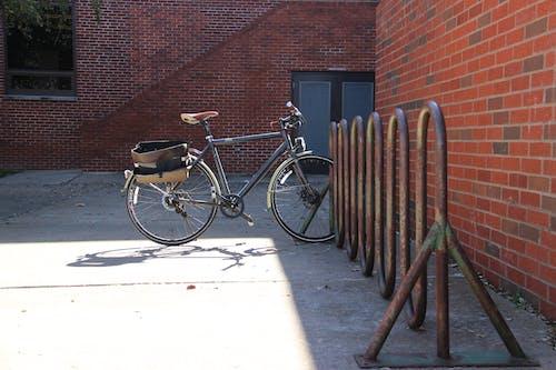 Free stock photo of alone, bike, bike stand