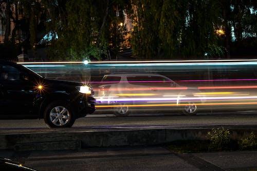 交通系統, 光, 光摄影 的 免费素材图片