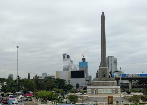 Immagine gratuita di Bangkok, monumento, monumento alla vittoria, pilastro