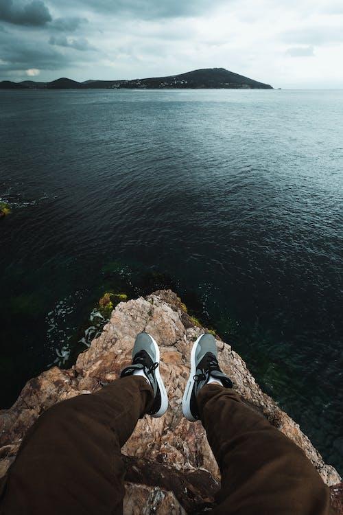 คลังภาพถ่ายฟรี ของ ayak, dağmanzarası, deniz, deniz manzarası