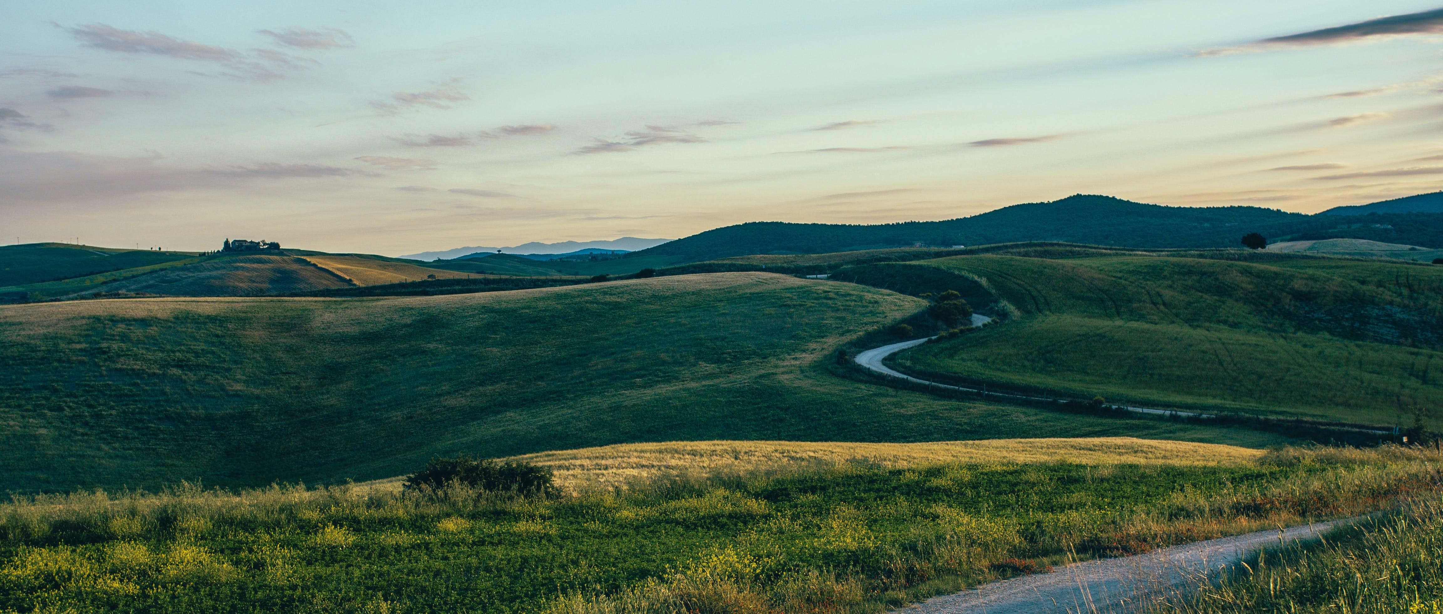 Free stock photo of road, landscape, sunrise, panorama