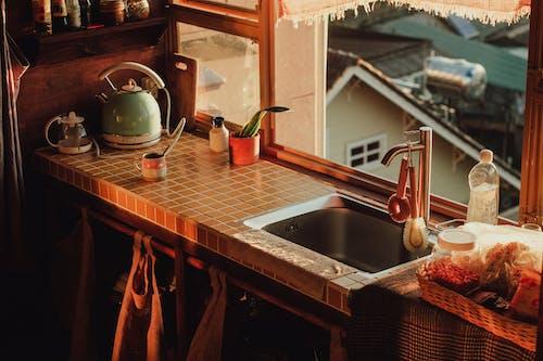Immagine gratuita di a casa, alba, arredamento, arte