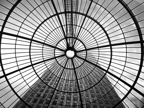 Grayscale Photography of Dome