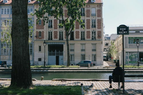 Free stock photo of canal saint martin, paris, quai valmy