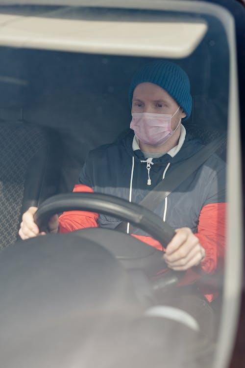 Gratis arkivbilde med ansiktsmaske, bil, bokser, coronavirus