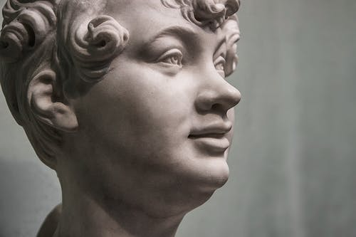 Free stock photo of head statue, statue