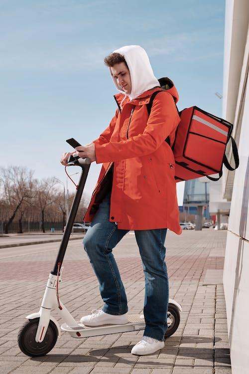 คลังภาพถ่ายฟรี ของ กระเป๋าเก็บความร้อน, กลางแจ้ง, การจัดส่ง, ข้างนอก