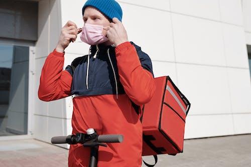 Foto profissional grátis de atendimento, atividade, bolsa térmica
