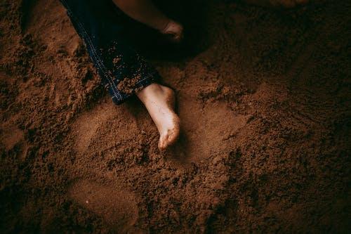 Immagine gratuita di a piedi nudi, adorabile, ambiente