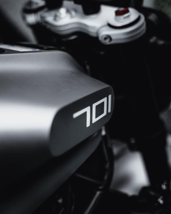 Black and Gray Motorcycle Engine