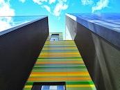 building, architecture, colorful