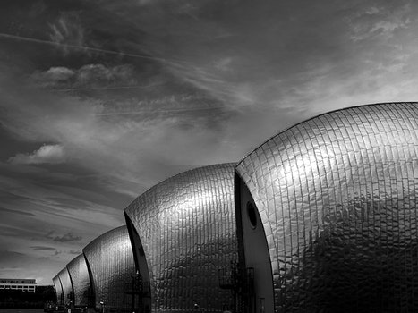 Free stock photo of city, sky, art, buildings