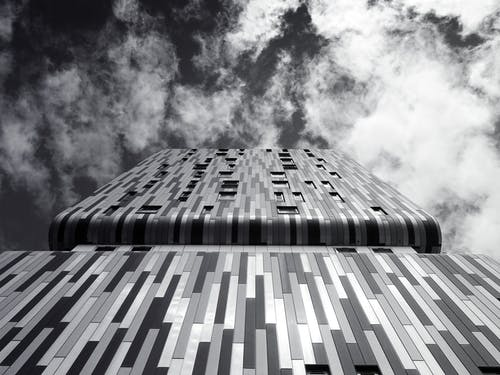 Building Under Cloudy Sky