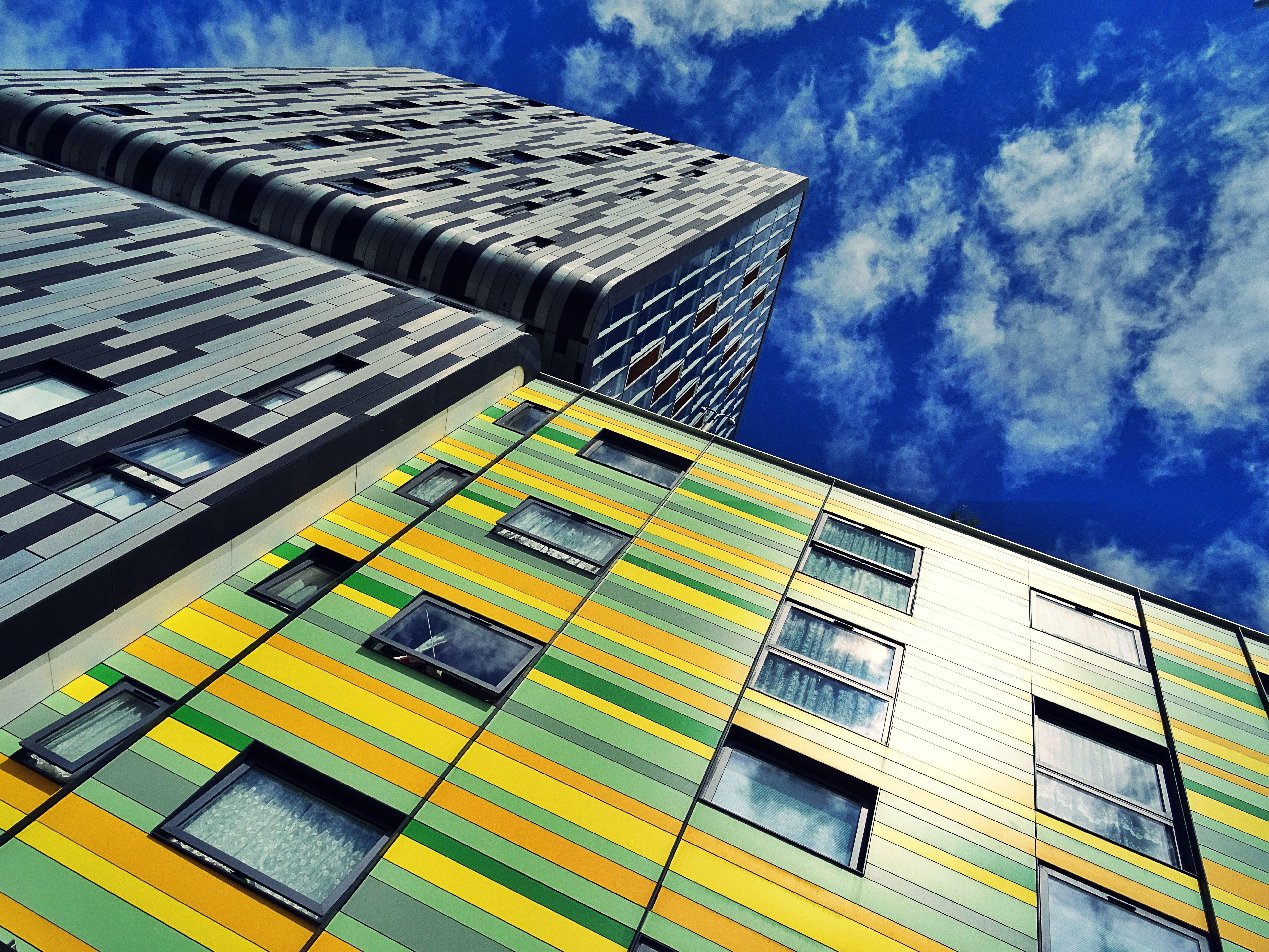 Základová fotografie zdarma na téma architektonický návrh, budovy, exteriér, fasáda