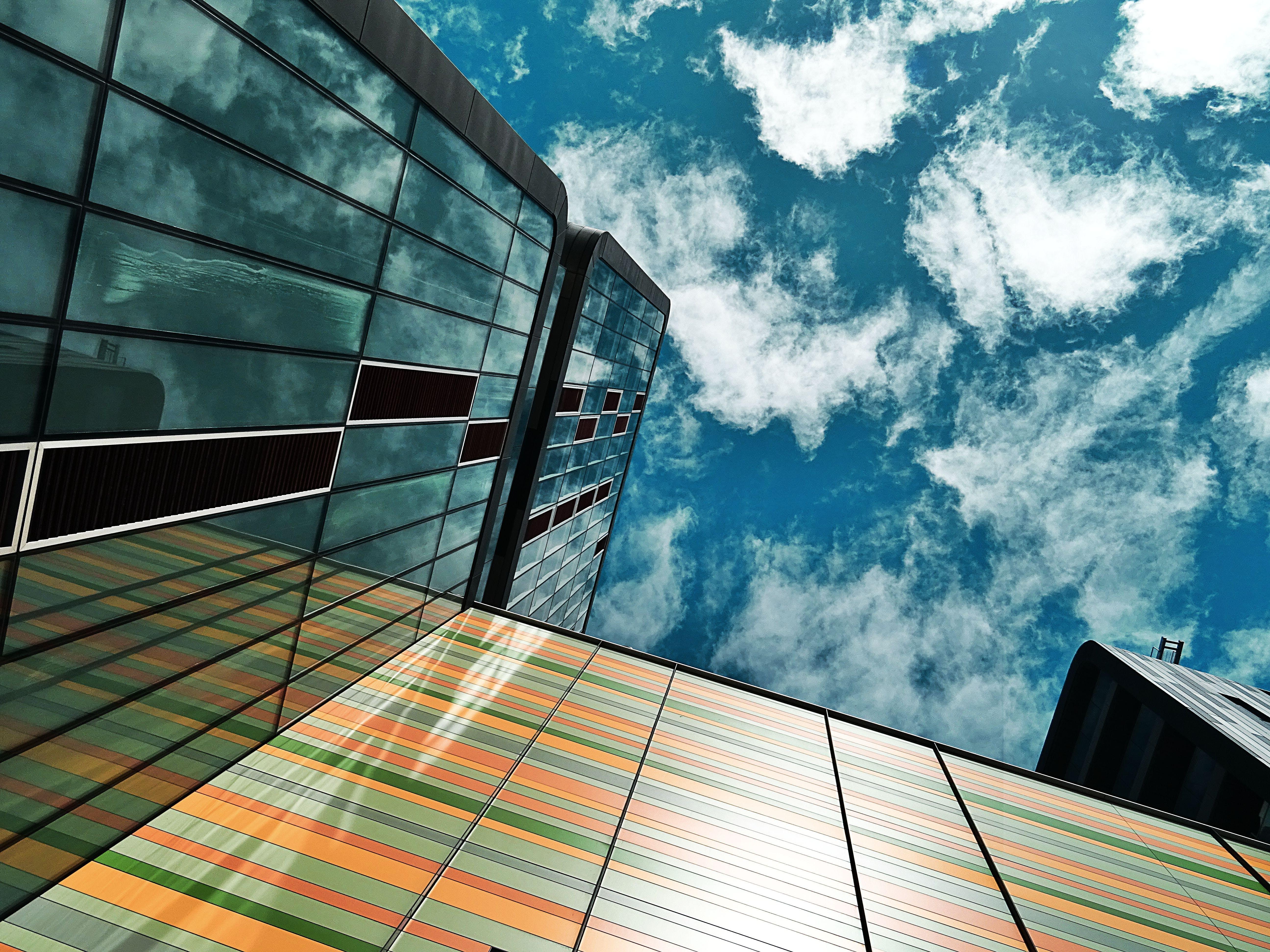 Kostenloses Stock Foto zu stadt, himmel, bau, büro