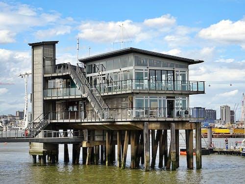 Ilmainen kuvapankkikuva tunnisteilla arkkitehtuuri, laituri, luonto, meri
