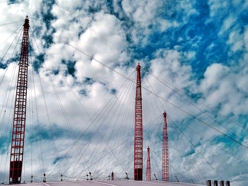 Ingyenes stockfotó acél, építészet, felhők, híd témában