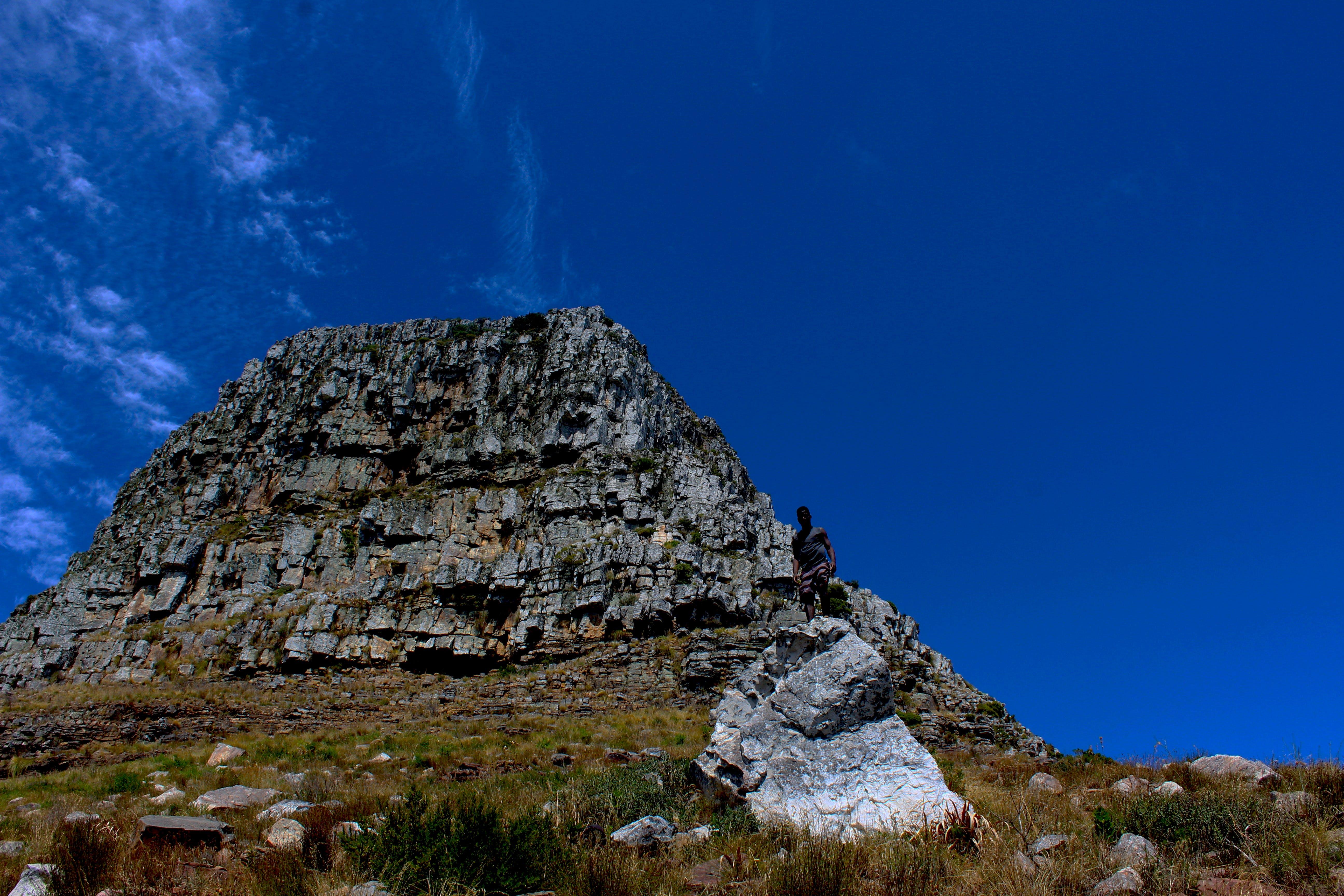 Free stock photo of mountain top