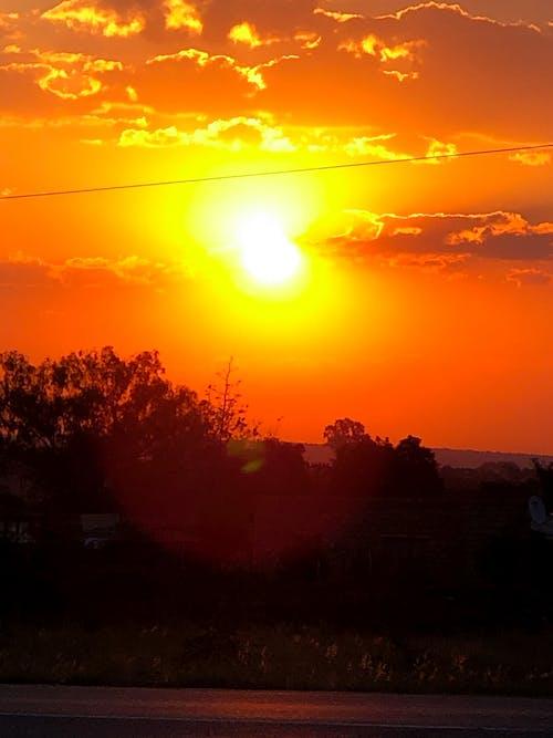 Free stock photo of nature photography, sunset