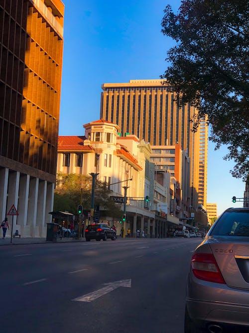 Free stock photo of city, city traffic