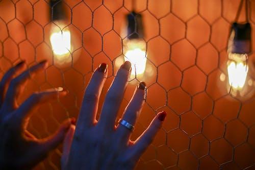 Foto stok gratis api, cahaya, cewek, dengan hangat