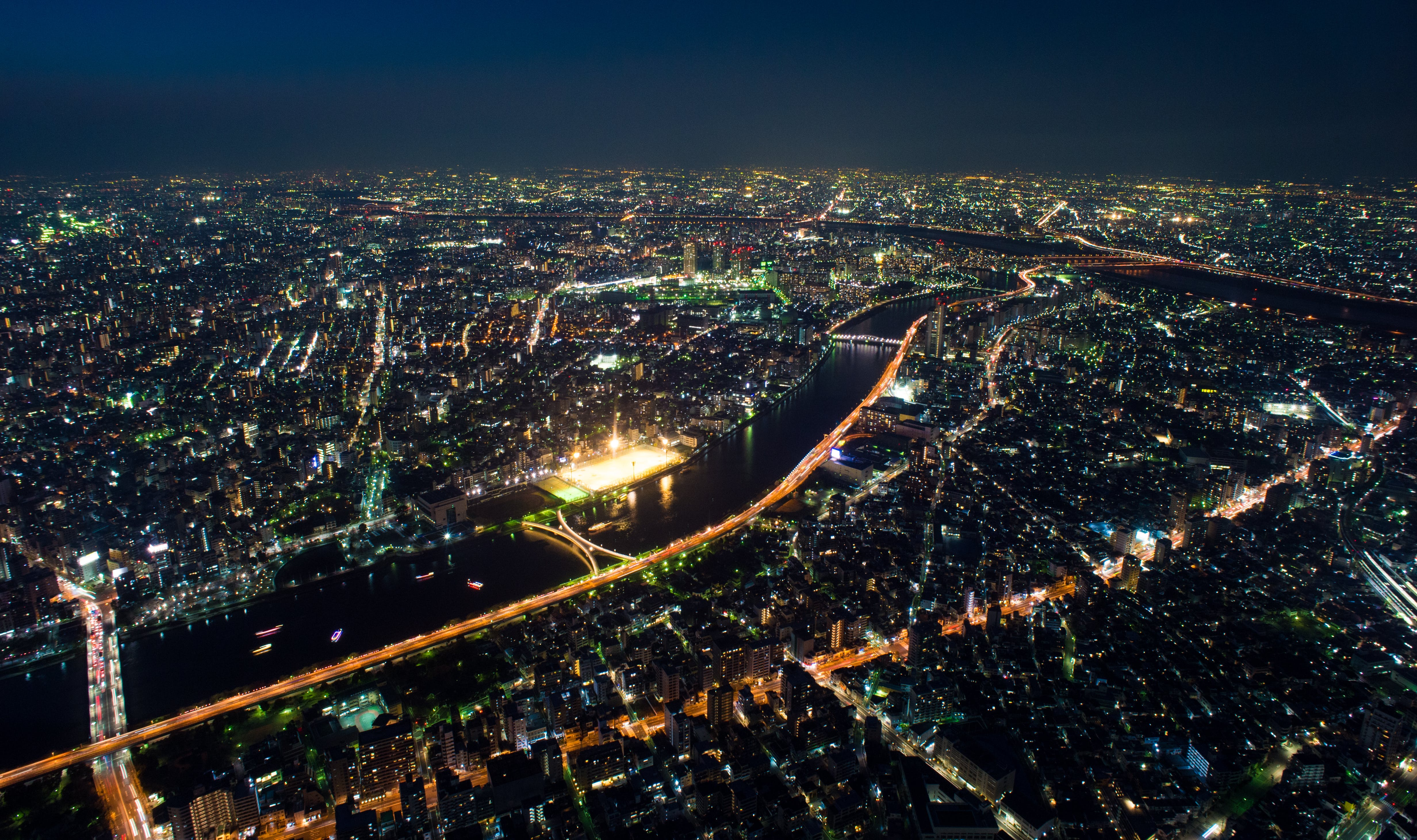 Bird's-eye View Photography of City Buildings