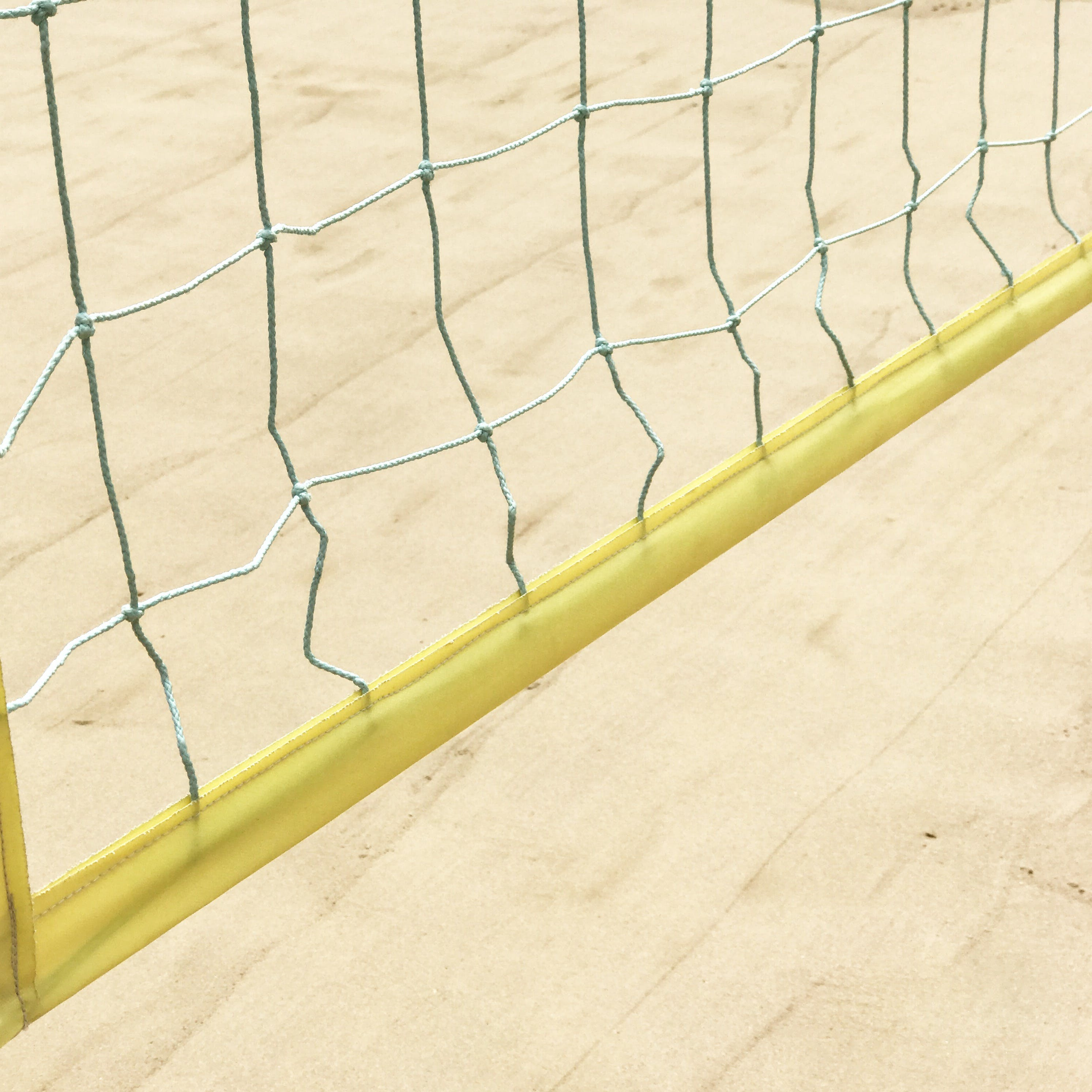 Yellow Volleyball Net
