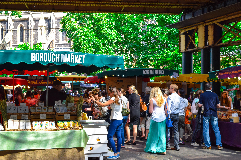 People Walking in Market