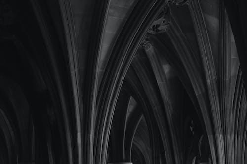 Free stock photo of Architettura, bianco e nero, biblioteca, biblioteca pubblica