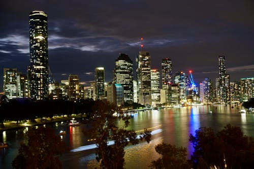 Free stock photo of australia, brisbane, city, city night