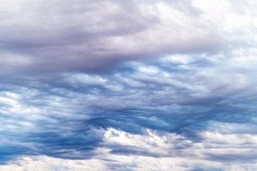 Majestic cloudy sky during daytime