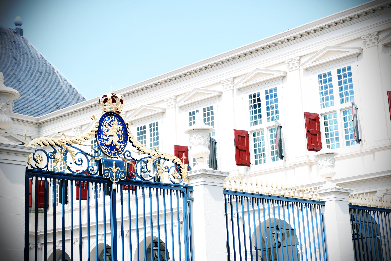 Closed Blue Gate