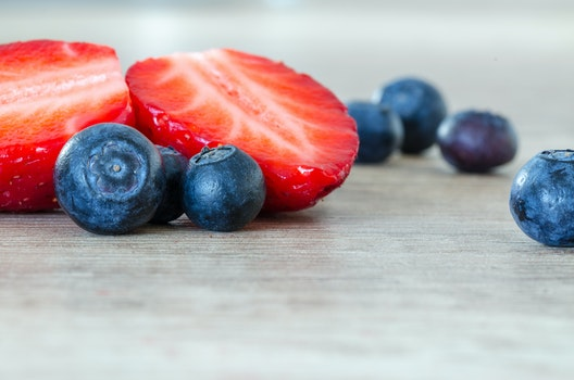 Free stock photo of food, red, blue, fruits