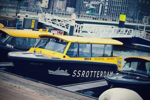 도시, 로테르담, 수상 택시, 페리의 무료 스톡 사진
