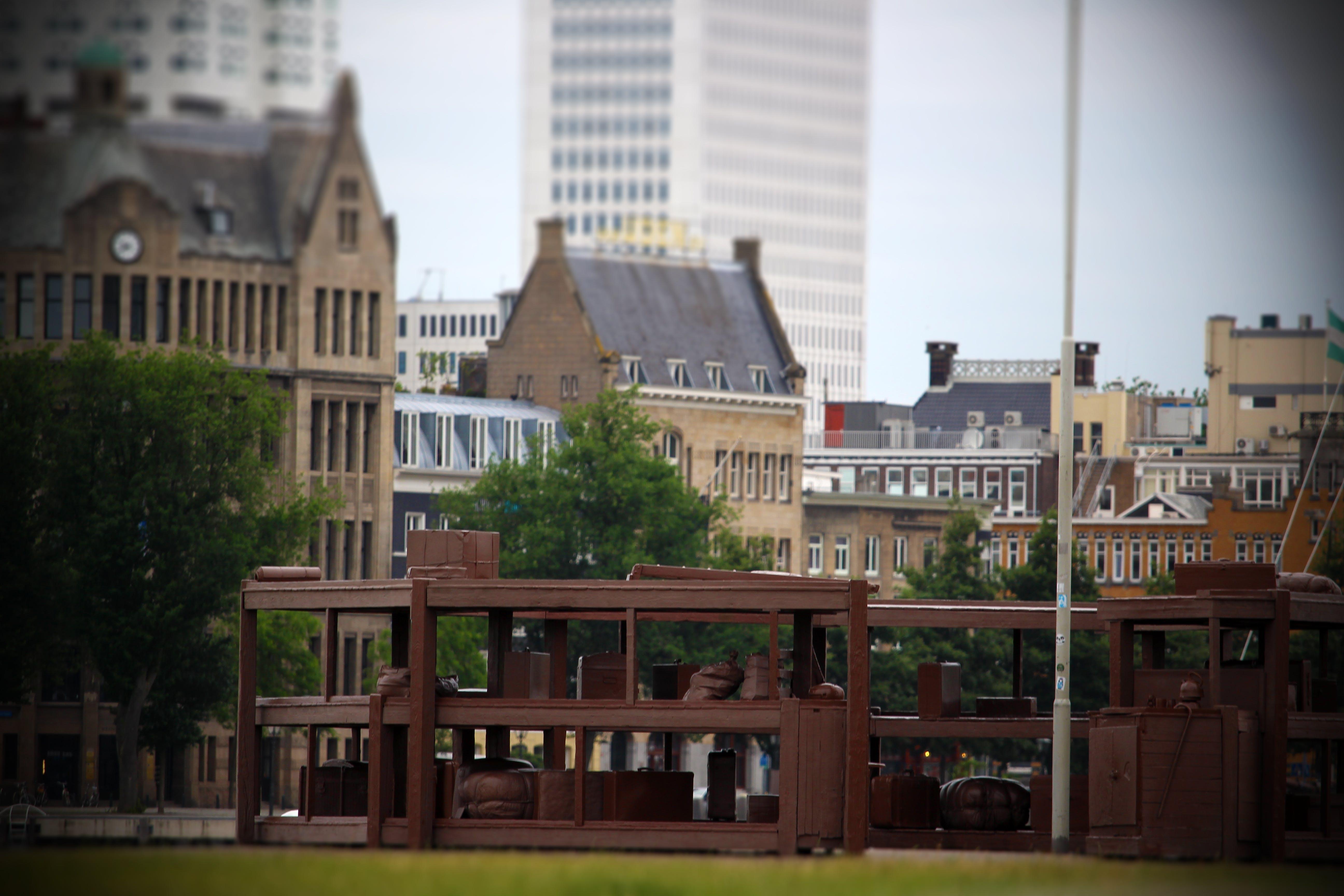 Kostenloses Stock Foto zu architektur, hafen, monument, rotterdam