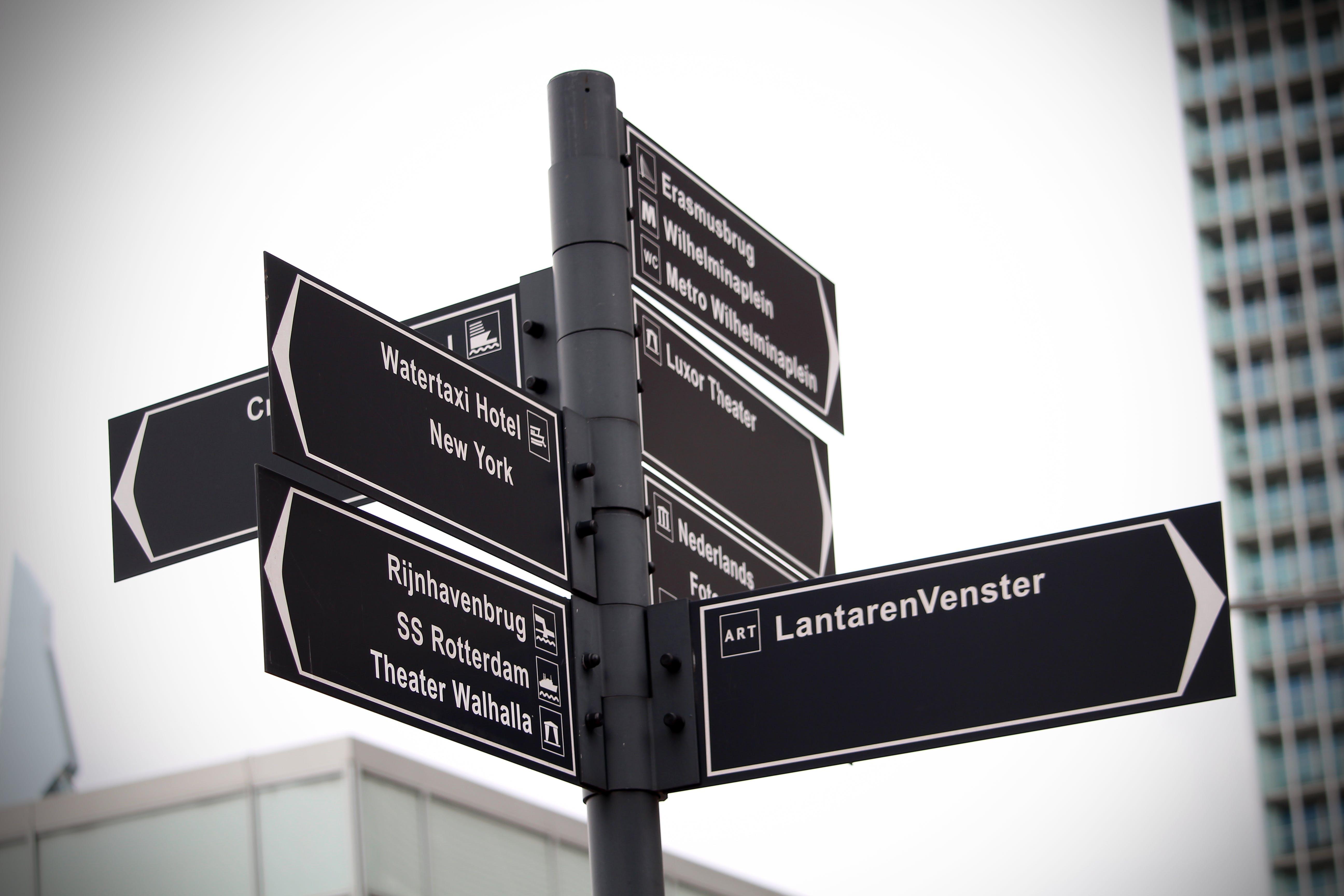 Assorted Road Signage